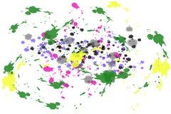 A aquarela mancha o fundo do grunge ilustração do vetor