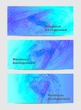 Aquarell-Geschäftshintergrund der Zusammenfassung gesetzter Stockbild