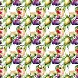 Aquarell-Illustration von Früchten Lizenzfreies Stockfoto
