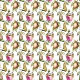 Aquarell-Illustration von Früchten Stockfoto