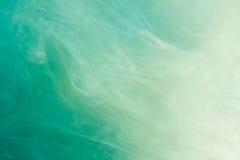 Aquarell im Wasser, Hintergrund Stockfoto