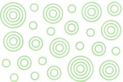 Aquarell kreist Muster ein Stockbild