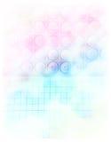 Aquarell-Lautsprecher-Wand Stockfotografie