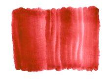 Aquarell-Steigungshintergrund der Grenadine roter stock abbildung