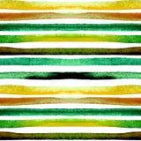 Aquarell streift nahtloses Muster Lizenzfreie Stockbilder