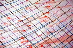 Aquarell- und Bleistiftlinien, kreatives Design Lizenzfreie Stockfotografie