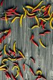 Aquarellanstrich auf weißem Hintergrund Stockfoto