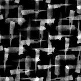 Aquarellbürste streicht nahtloses Muster vektor abbildung