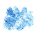Aquarellbürstenanschläge Stockfotografie