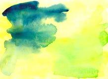 Aquarellbeschaffenheitshintergrund Stockfoto