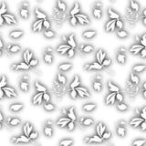 Aquarellblattmuster Stockbild