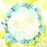 Aquarellblumenstrau? von Blumen lizenzfreie abbildung