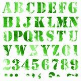 Aquarellbuchstaben Lizenzfreies Stockfoto