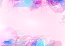 Aquarelle abstract background. Watercolor splash. Vector illustration Stock Photos