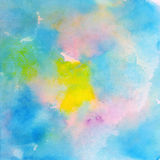 Aquarelle abstraite Photos libres de droits