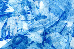 aquarelle abstraite de bleu de fond Photo stock