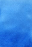 aquarelle abstraite de bleu de fond Image libre de droits