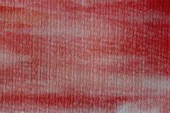 aquarelle abstraite de rouge de fond Peintures rouges d'aquarelle sur le papier texturisé Photographie stock libre de droits