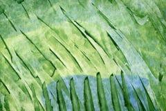 aquarelle abstraite de vert de fond Image libre de droits