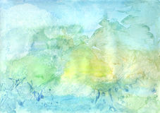Aquarelle background-6 Photo libre de droits
