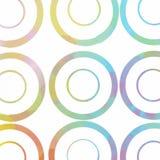 Aquarelle colorée abstraite Images stock