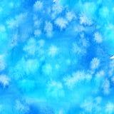 Aquarelle colorée abstraite sans couture pour le fond Modèle sans couture d'encre peinte à la main avec le ciel et les nuages abs illustration de vecteur
