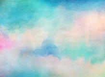 Aquarelle colorée Fond grunge de texture illustration libre de droits