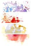 Aquarelle 8 de fond Photos stock
