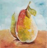 Aquarelle de poires illustration libre de droits