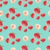 Aquarelle floral seamless wallpaper, blur flower royalty free illustration
