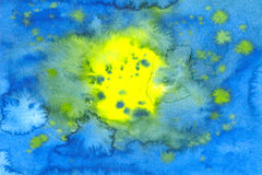 Aquarelle picture Royalty Free Stock Image