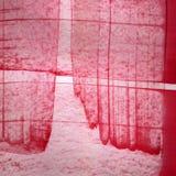 aquarelle rose de fond Image libre de droits
