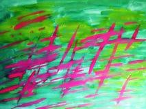 Aquarelles peintes abstraites Image stock