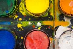 Aquarellfarbe Lizenzfreies Stockfoto