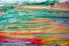 Aquarellfarben und schlammiger Hintergrund Lizenzfreie Stockbilder