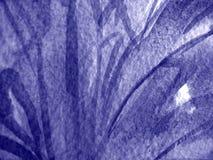 Aquarellfarbtöne im Blau Stockfoto