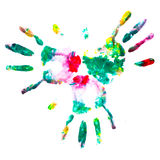 Aquarellfinger. Stockbild