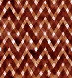 Aquarellgingham von braunen Farben Nahtloses Muster für Gewebe Lizenzfreie Stockfotos