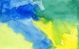 Aquarellhintergrund Lizenzfreies Stockfoto
