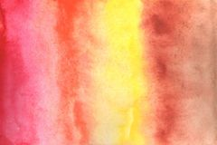 Aquarellhintergrundillustration Aquarell bewegte Linien auf einem wei?en Hintergrund wellenartig stock abbildung