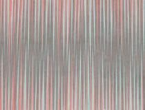 Aquarellkorallen-, Blauer und Grauergestreifter Hintergrund vektor abbildung