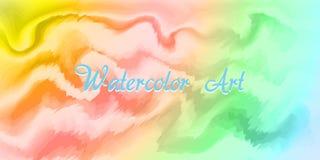 Aquarellkunsthintergrund EPS10 stock abbildung