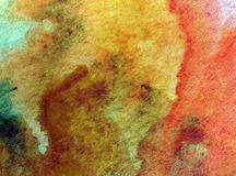 Aquarellkunsthintergrundzusammenfassungs-Steinsand maserte unscharfe Färbung der nassen Wäsche vektor abbildung