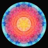 Aquarellmandala Dekor für Ihr Design vektor abbildung