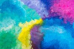 Aquarellmehrfarbenhintergrund Lizenzfreie Stockfotografie