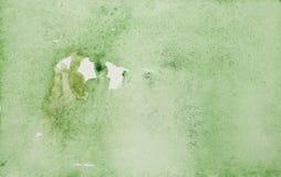 Aquarellzusammenfassungshintergrund der grünen Farbe stockfoto