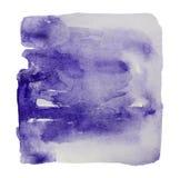 Aquarellzusammenfassungshintergrund der purpurroten Farbe lizenzfreie stockfotografie