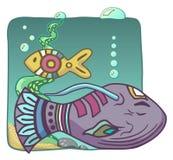 Aquarium Illustration de Vecteur