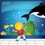 Aquarium Vektor Abbildung