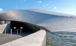 Aquarium bleu de planète Photographie stock